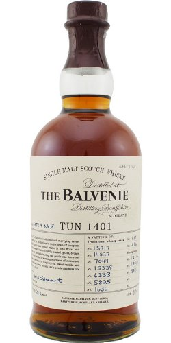 The Dramble's tasting notes for Balvenie Tun 1401 Batch No.8