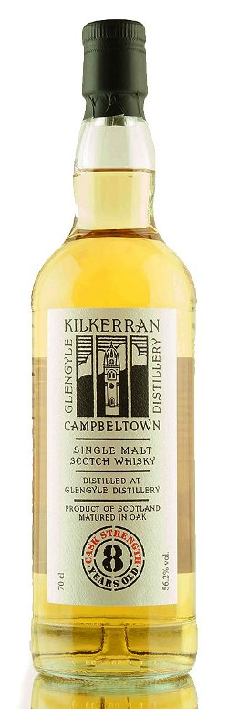 The Dramble's tasting notes for Kilkerran 8 year old Cask Strength