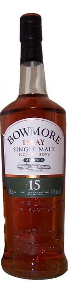 The Dramble's tasting notes for Bowmore 15 year old Mariner