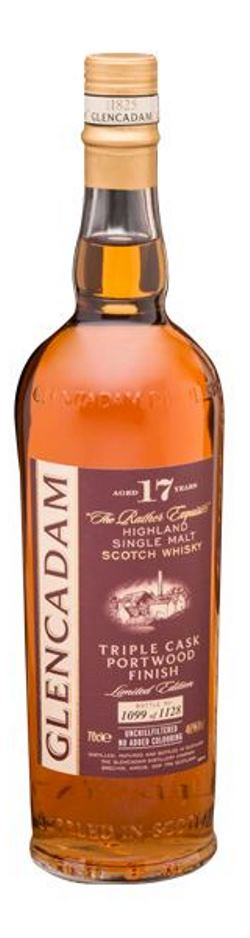 The Dramble's tasting notes for Glencadam Triple Wood 17 year old Portwood Finish