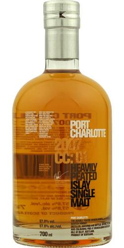 The Dramble's tasting notes for Bruichladdich 2007 CC:01