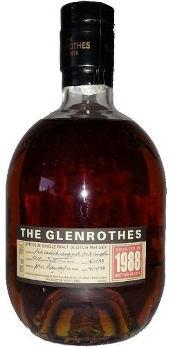 The Dramble's tasting notes for Glenrothes 1988