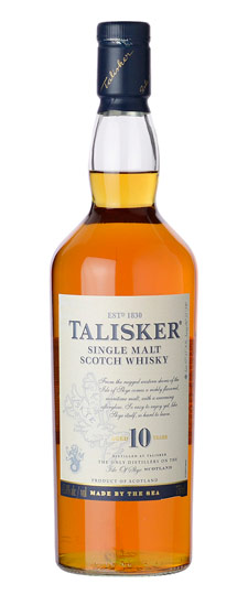 The Dramble's tasting notes for Talisker 10 year old
