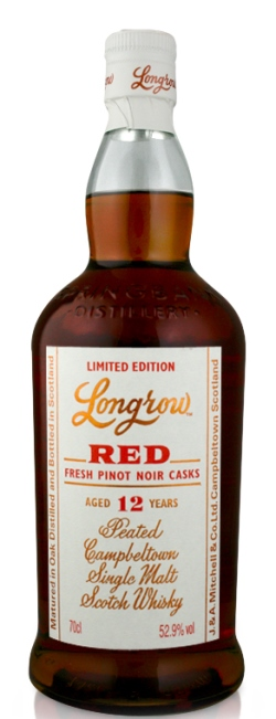 The Dramble's tasting notes for Longrow 12 year old Fresh Pinot Noir Casks
