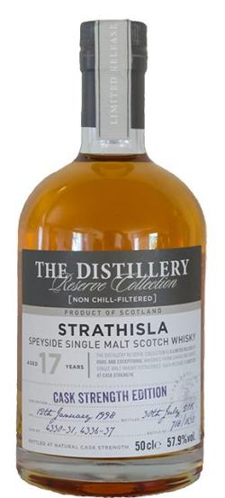 The Dramble's tasting notes for Strathisla 1998 17 year old Distillery Reserve Collection