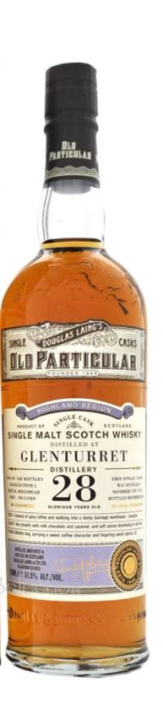 The Dramble's tasting notes for Glenturret 28 year old Douglas Laing Old Particular