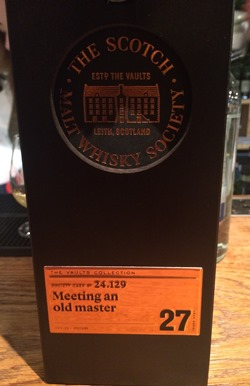 The Dramble's tasting notes for SMWS 24.129 Meeting and Old Master