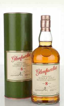 The Dramble's tasting notes for Glenfarclas 8 year old