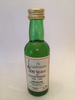 The Dramble reviews Ardmore 1978 James MacArthur 500 years of Scotch whisky