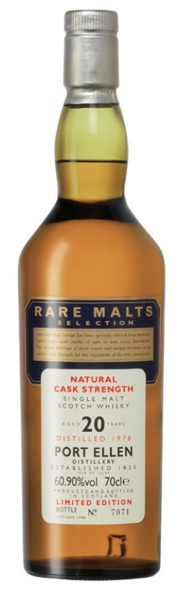 The Dramble reviews Port Ellen 1978 20 year old Rare Malts
