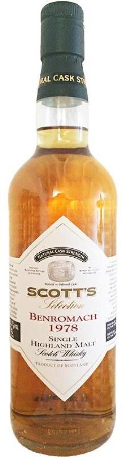 The Dramble reviews Benromach 1978 - 1996 Scott's Selection