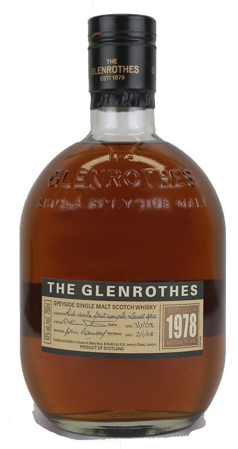 The Dramble reviews Glenrothes 1978 vintage