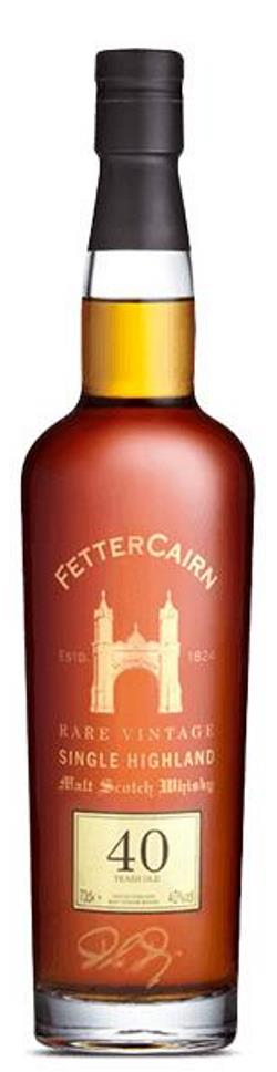The Dramble's review of Fettercairn 40 year old 1969