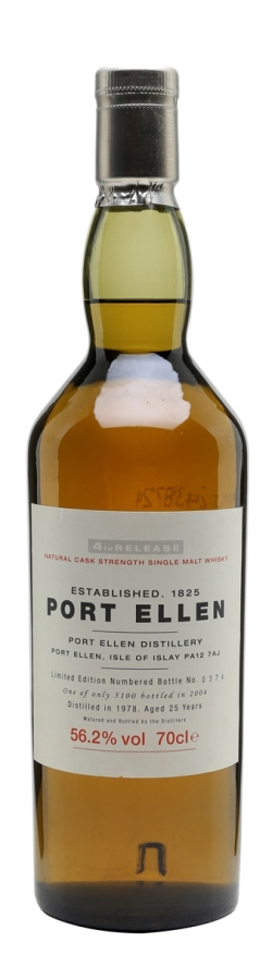 The Dramble reviews Port Ellen 1978 25 year old 4th Special Release