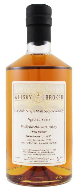 The Dramble reviews Aberlour 1992 25 year old Whiskybroker