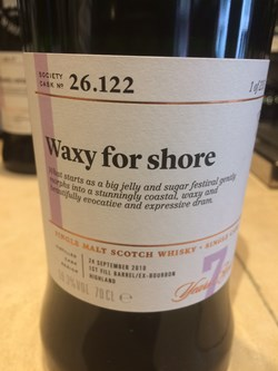 The Dramble reviews SMWS 26.122 Waxy for shore
