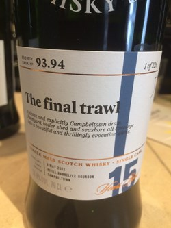 The Dramble reviews SMWS 93.94 The final trawl
