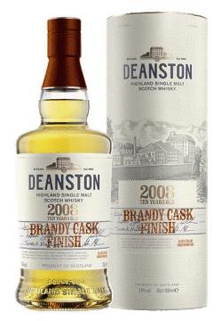 The Dramble reviews Deanston 2008 Brandy Cask Finish