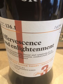 The Dramble reviews SMWS 136.1 Effervescence and enlightenment