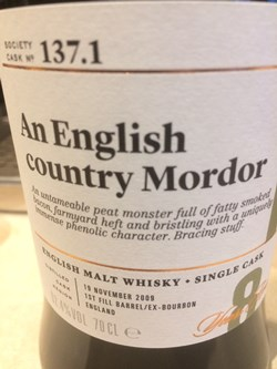 The Dramble reviews SMWS 137.1 An English Country Mordor