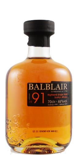 The Dramble reviews Balblair 1991 3rd Release