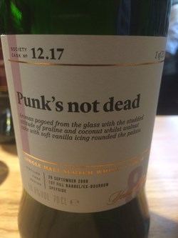 The Dramble reviews SMWS 12.17 Punk's not dead