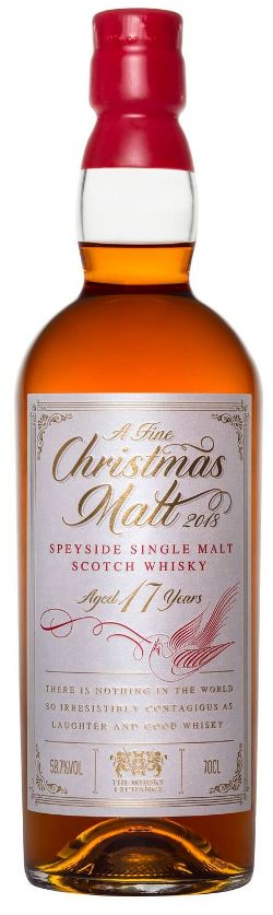 The Dramble reviews The Whisky Exchange A Fine Christmas Malt 2018