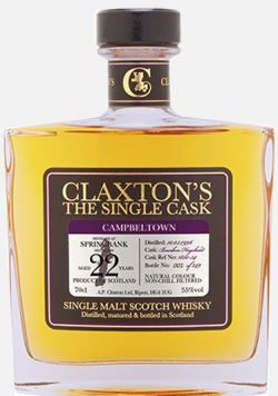 The Dramble reviews Claxtons Springbank 1996 22 year old