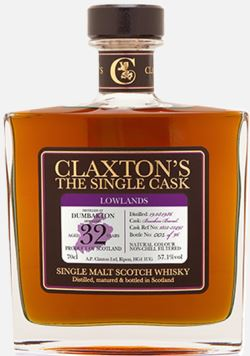 The Dramble reviews Claxtons Dumbarton 1986 32 year old
