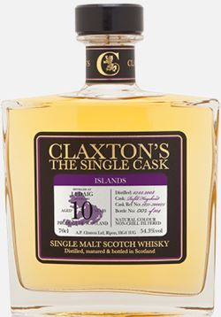 The Dramble reviews Claxtons Ledaig 2008 10 year old