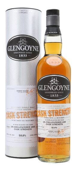 The Dramble's tasting notes for Glengoyne Cask Strength Batch 4