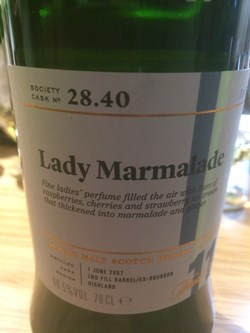 The Dramble reviews SMWS 28.40 Lady marmalade