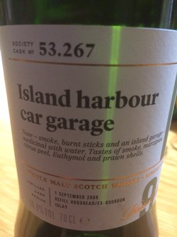 The Dramble reviews SMWS 53.267 Island harbour car garage