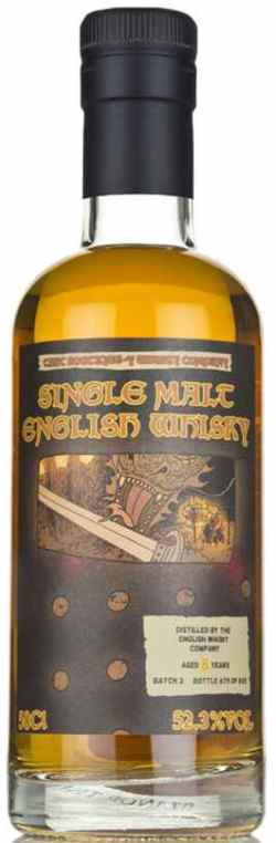 The Dramble reviews Boutique-y Whisky English Whisky Co. 8 year old Batch 2
