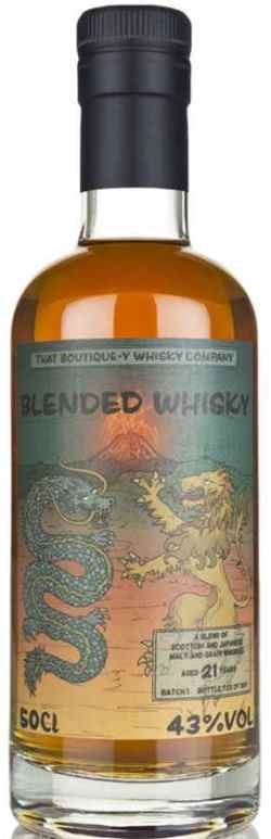 The Dramble reviews Boutique-y Blended Whisky 21 year old batch 1