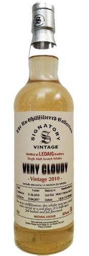 The Dramble's tasting notes for Ledaig 2010 Signatory Un-Chillfiltered Collection - Very Cloudy