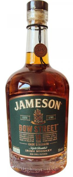 The Dramble reviews Jameson Bow Street 18 year old Cask Strength