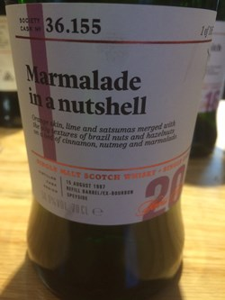 The Dramble reviews SMWS 36.155 Marmalade in a nutshell