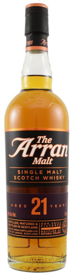 The Dramble reviews Arran 21 year old