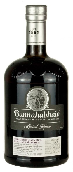 The Dramble reviews Bunnahabhain 2008 Moine Bordeaux red wine cask matured