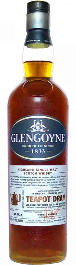 The Dramble reviews Glengoyne Teapot Dram Batch 006