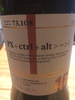 The Dramble reviews SMWS 73.108 PX+CTRL+ALT > = :-)