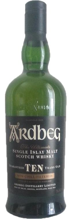 The Dramble reviews Ardbeg Ten - old label 2006