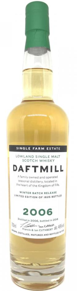 The Dramble reviews Daftmill 2006 Winter Batch Release