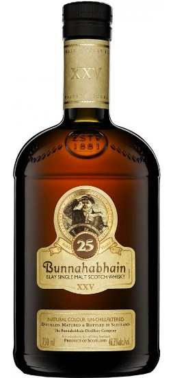 Bunnahabhain 25 year old, Islay, Scotch, whisky