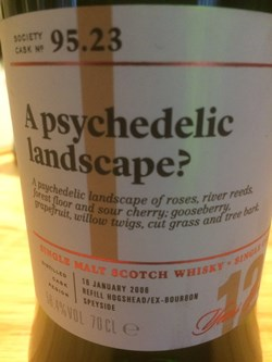 The Dramble reviews SMWS 95.23 A psychedelic landscape?