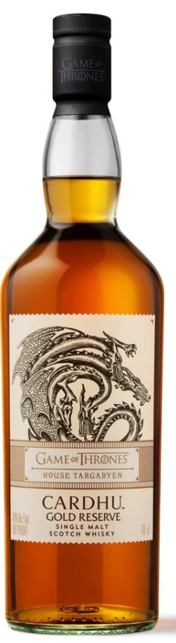 The Dramble reviews Cardhu Gold Reserve House Targaryen