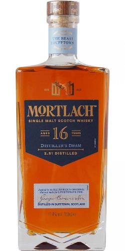 The Dramble reviews Mortlach 16 year old Distiller's Dram