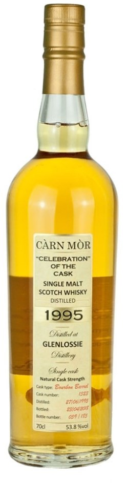 The Dramble reviews Glenlossie 1995 22 year old Carn Mor Celebration of the Cask