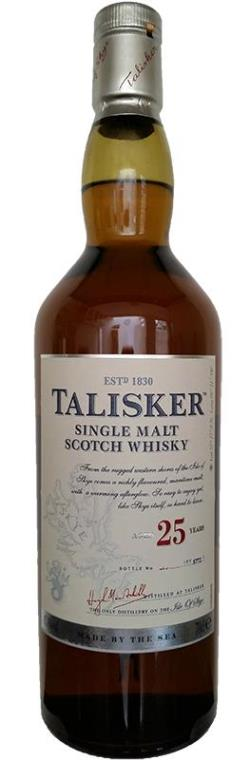 The Dramble's tasting notes for Talisker 25 year old